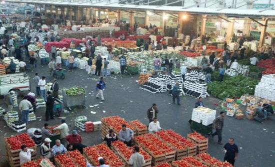 إتلاف 4 أطنان خضروات من سوق الجمعة في مادبا