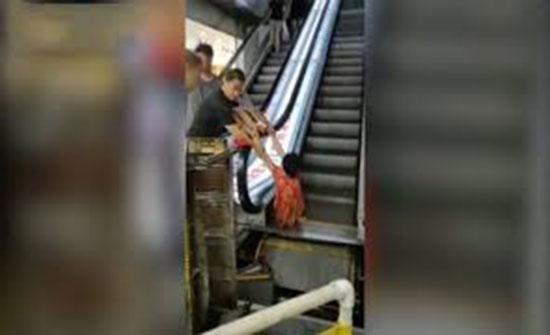 فيديو : امرأة تفقد ساقها بسبب عنادها الزائد!