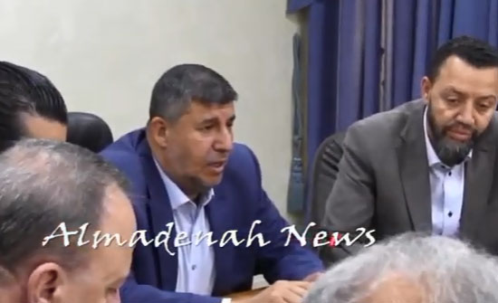 بالفيديو والصور : تسجيل لاجتماع لجنة فلسطين مع رؤساء لجان المخيمات  في الاردن ( شاهد )