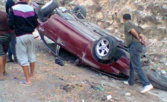 وفاة فتاتين اثر حادث تدهور مركبة في الطفيلة