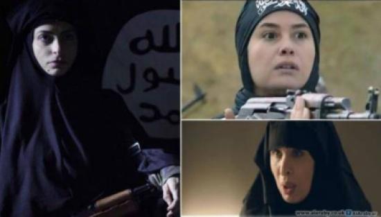 فنانات عربيات بملابس داعش