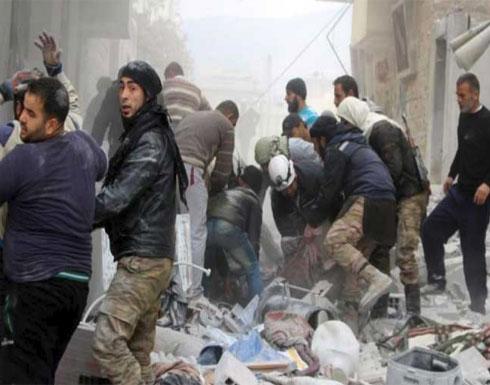 """مقتل 11 مدنيا في غارة جوية على ريف """"إدلب"""" السورية"""
