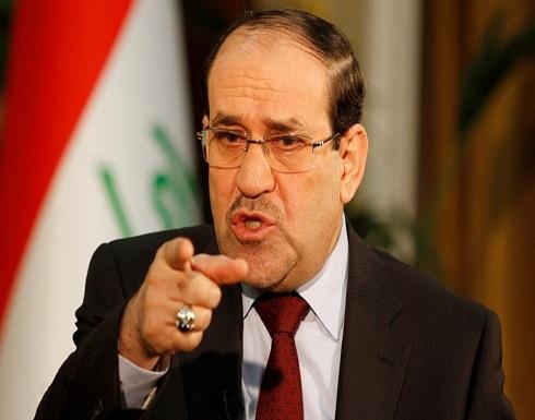 """""""المالكي"""" يرفض تشكيل أي حكومة ويدعو لإلغاء الانتخابات"""