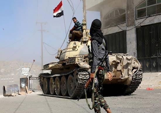 الجيش اليمني يعلن مقتل قيادي حوثي بمواجهات جنوب غربي البلاد
