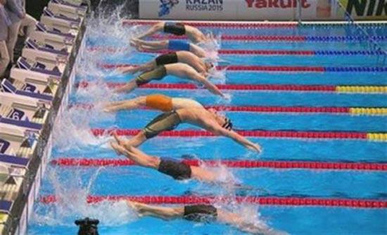الاردن يشارك في البطولة العربية للسباحة