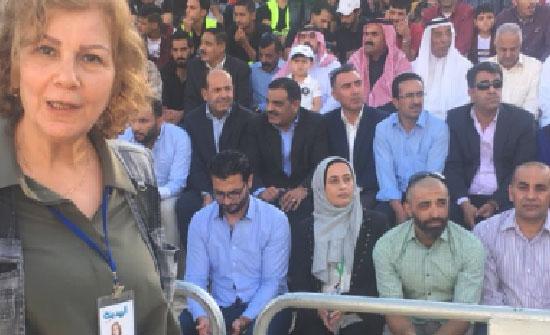 فيديو وصور : اهازيج ودبكات شعبية بمشاركة وزراء ونواب واعيان في حدائق الحسين احتفالا بعيد الجلوس الملكي