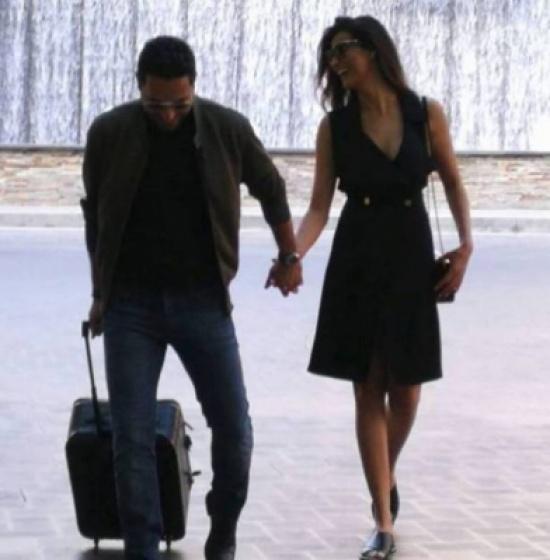وسام بريدي وزوجته ريم السعيدي بلقطة حميمة – بالصورة