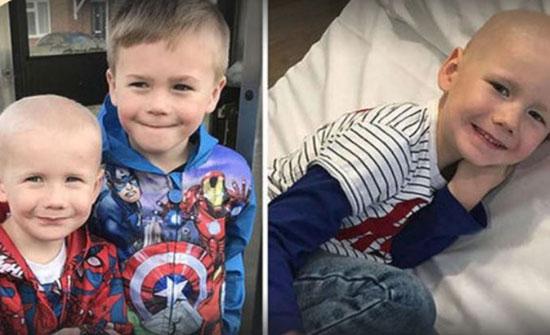 بطولة طفل.. يتبرع بنخاع العظم لإنقاذ أخيه