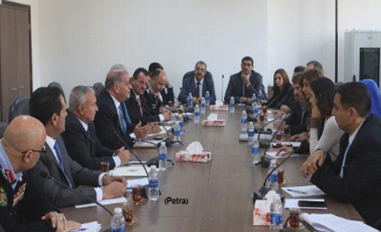 الطراونة يلتقي الرئيس التنفيذي للشرق الاوسط وشمال افريقيا لهيومن رايتس ووتش