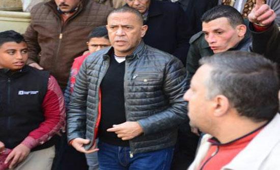 """الصور الاولى من جنازة والد نجم """"مسرح مصر"""""""