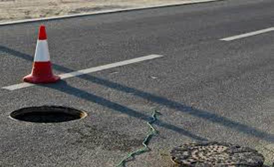 عجلون : معالجة خطوط ومناهل الصرف الصحي