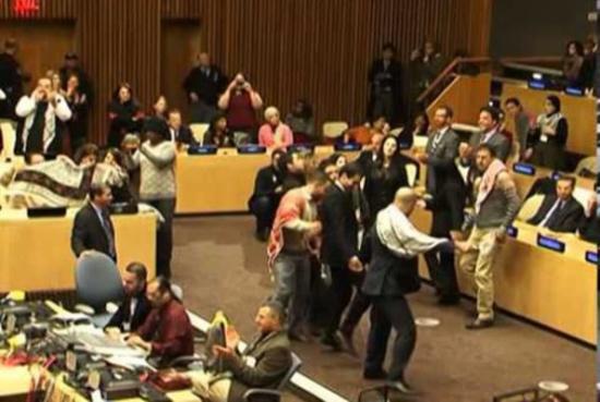 بالفيديو: الدبكة الفلسطينية في الأمم المتحدة
