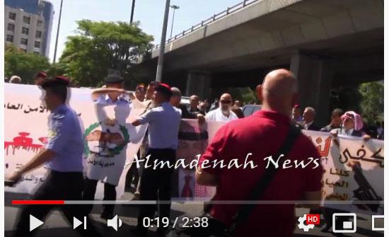 """بالفيديو والصور : شاهد مسيرة """" كفى لنزيف الفرح  """" التي انطلقت من دوار الداخلية"""