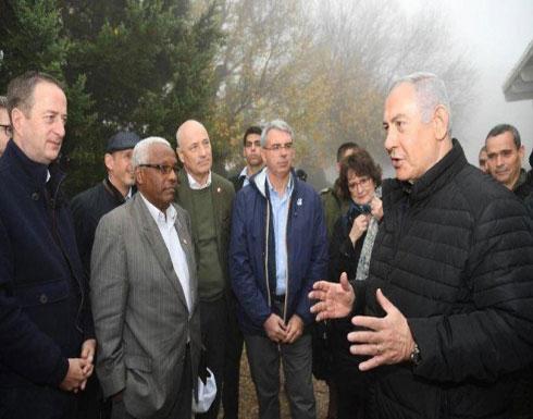 """نتنياهو يهدد بانتقال عملية """"درع الشمال"""" للأراضي اللبنانية"""
