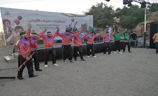حضور متميز لفعاليات صيف الأردن بمأدبا