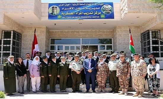 اختتام دورة النوع الاجتماعي (3) في مركز تدريب المرأة العسكري