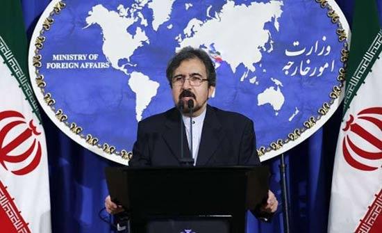 إيران تدعو تركيا لوقف العملية العسكرية في عفرين