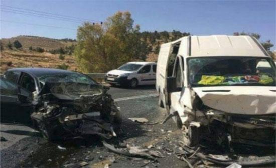 11 إصابة بحادثين مختلفين في المفرق