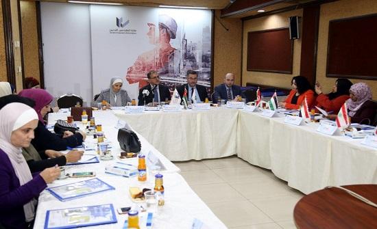 اجتماع للجنة المهندسات العربيات في نقابة المهندسين