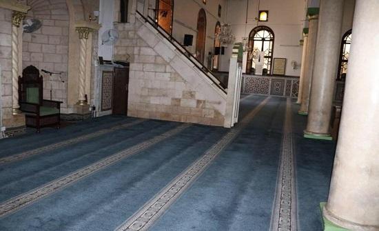 بالصور : المسجد الحسيني مفتوح للصلاة