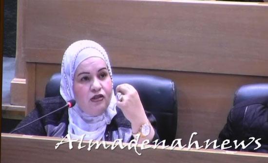 بالفيديو : مداخلة النائب منال الضمور عن العفو العام