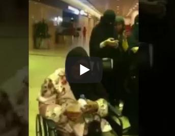 بالفيديو: أسرة سعودية تودع بالدموع عاملة منزلية في المطار