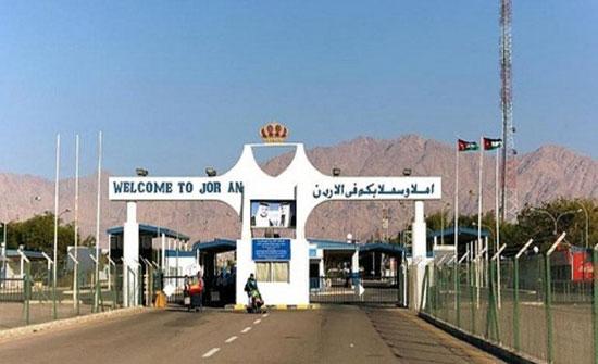 حركة المسافرين والشحن عبر جسر الملك حسين خلال فترة عيد الأضحى
