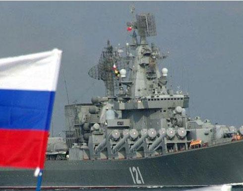 """دبلوماسي في """"الناتو"""": انتشار بحري روسي كبير لبدء هجوم نهائي على حلب"""