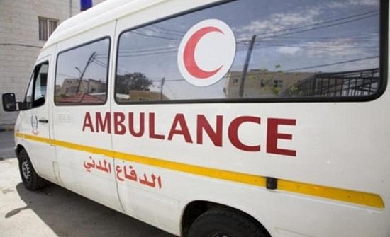 وفاة واصابة اثر تصادم مركبة بحاجز اسمنتي في إربد