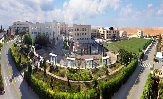 """جامعة الزرقاء """"واحة خضراء من قلب الصحراء"""""""