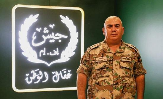 مبروك للعميد هشام أحمد المفلح الخريسات