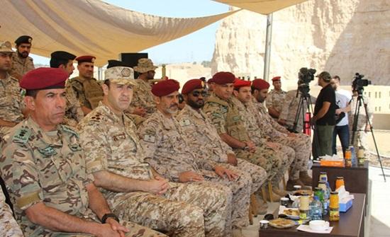 """اختتام فعاليات التمرين العسكري الأردني السعودي المشترك عبد الله """"6"""""""