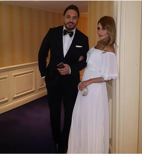رامي عياش وزوجته داليدا ينتظران مولودهما الثاني