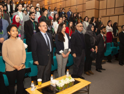 ختام فعاليات مؤتمر نادي نموذج هيئة الأمم المتحدة بجامعة الأميرة سمية