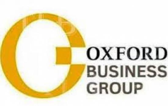 مجموعة أكسفورد للاعمال تنشر تقريرا عن الأردن يركز على الفرص التنموية