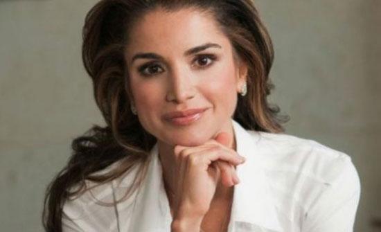 """بالفيديو : قصة سؤال """"مضحك"""" للملكة رانيا العبدالله عن """"ورق الدوالي"""""""