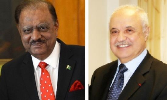 أبوغزاله والرئيس الباكستاني يبحثان التعاون المستقبلي في قطاعي تكنولوجيا المعلومات والتعليم