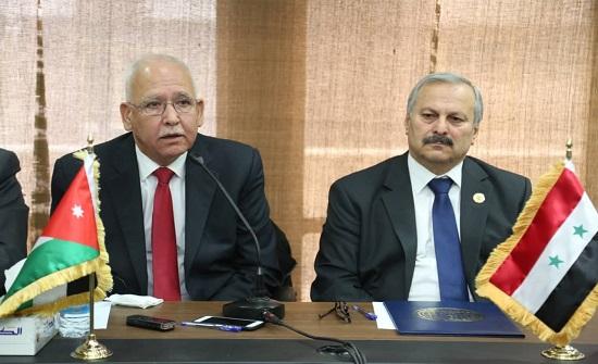 اتفاقية تعاون بين نقابة المهندسين الاردنيين ونظيرتها السورية