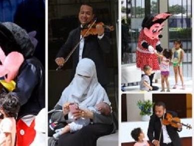 مستشفى مصرى يستقبل المرضى بالموسيقى والكمنجات