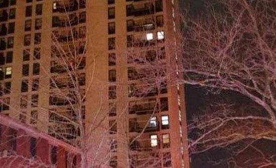 """سقط من الطابق الثامن """"وهو نايم"""""""