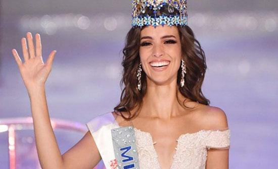بالصور.. مكسيكية منخرطة في العمل الإنساني تتوّج ملكة جمال العالم