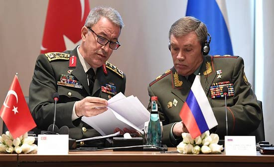رئيسا الأركان والاستخبارات التركيين يتوجهان إلى روسيا