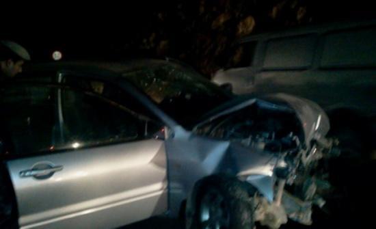 وفاة و 4 إصابات اثر حادث تصادم بعمان