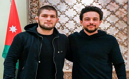 الأمير حسين : مع البطل حبيب