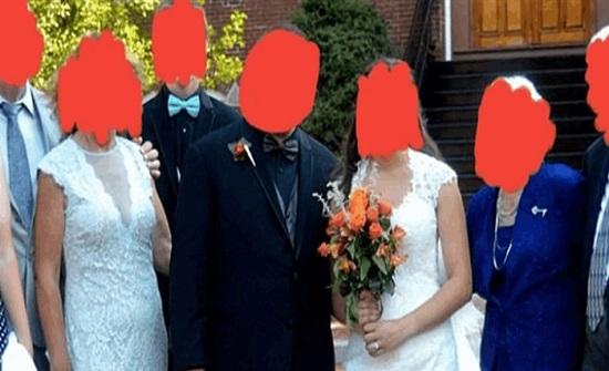 """من العروس؟ """"حماة"""" تتعرّض لانتقادات قاسية بسبب فستانها في زفاف ابنها"""