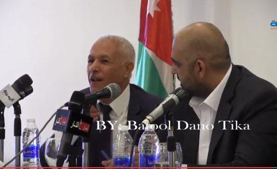 شاهد بالفيديو : العرموطي يروي قصة ملفه عند الملك وسبب عزوف الأردنيين من أصل فلسطيني عن المشاركة في الإنتخابات