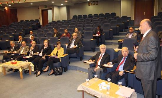 لجنة الصحة والبيئة والسكان في مجلس الاعيان تزور مستشفى البشير