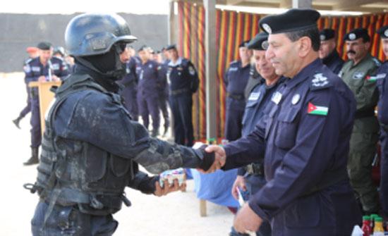 تخريج دورة المهارات الأمنية الخاصة في المركز الاردني الدولي لتدريب الشرطة