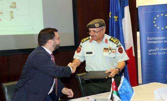 """القوات المسلحة الأردنية توقع اتفاقية تعاون مع """"اكسبرت فرانس"""""""