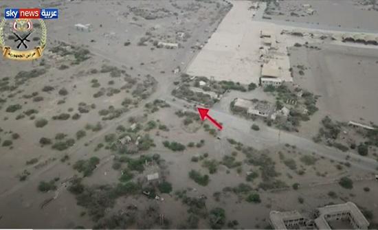 تدمير مخزن أسلحة للحوثيين في الحديدة